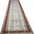 適應客廳書房走廊藝朮真絲手工地毯批發零售2.5x12ft 1
