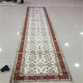 適應客廳書房走廊藝朮真絲手工地毯批發零售2.5x12ft 2