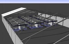 波斯富贵移动大型篷房,适用展会,车展,新产品发布会