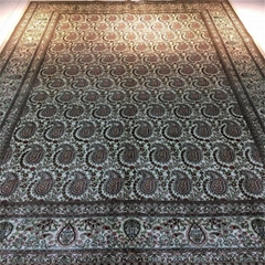 6英尺x 9英尺真丝纯手工地毯东 (热门产品 - 1*)
