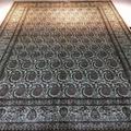 6英呎x 9英呎真絲純手工地毯東方設計圖案客廳臥室書房 5