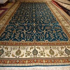 6x9 foot Turkish handmade silk carpet, Persian carpet for children's room