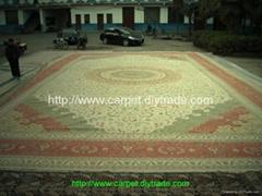 """亚美汇美地毯""""世界名毯""""- 炫富波斯真丝地毯 80x151 ft"""
