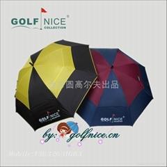 直杆防風防紫外線高爾夫傘