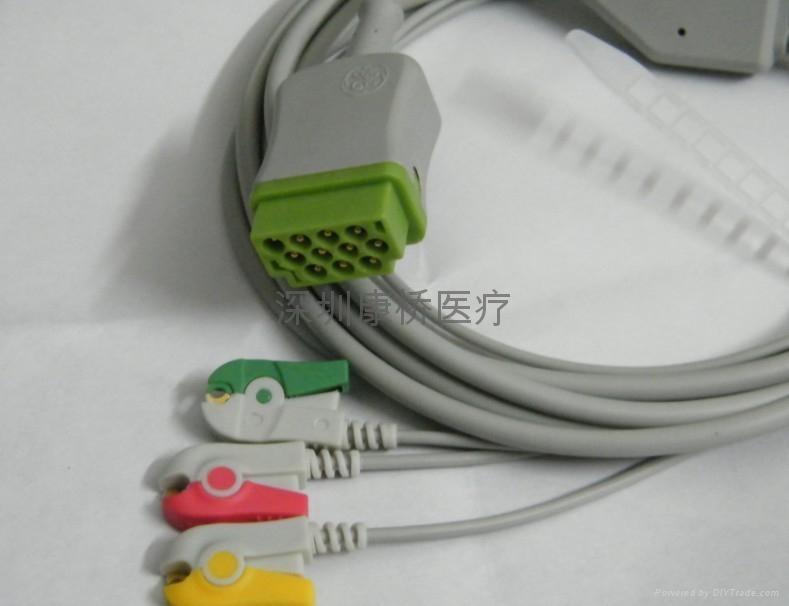 ZOLL ECG CABLE 5