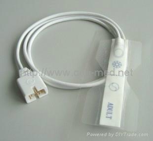 disposable spo2 sensor adult medaplast 5
