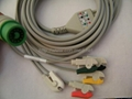 FUKUDA one piece series patient cable with leads