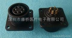 6P心電插座