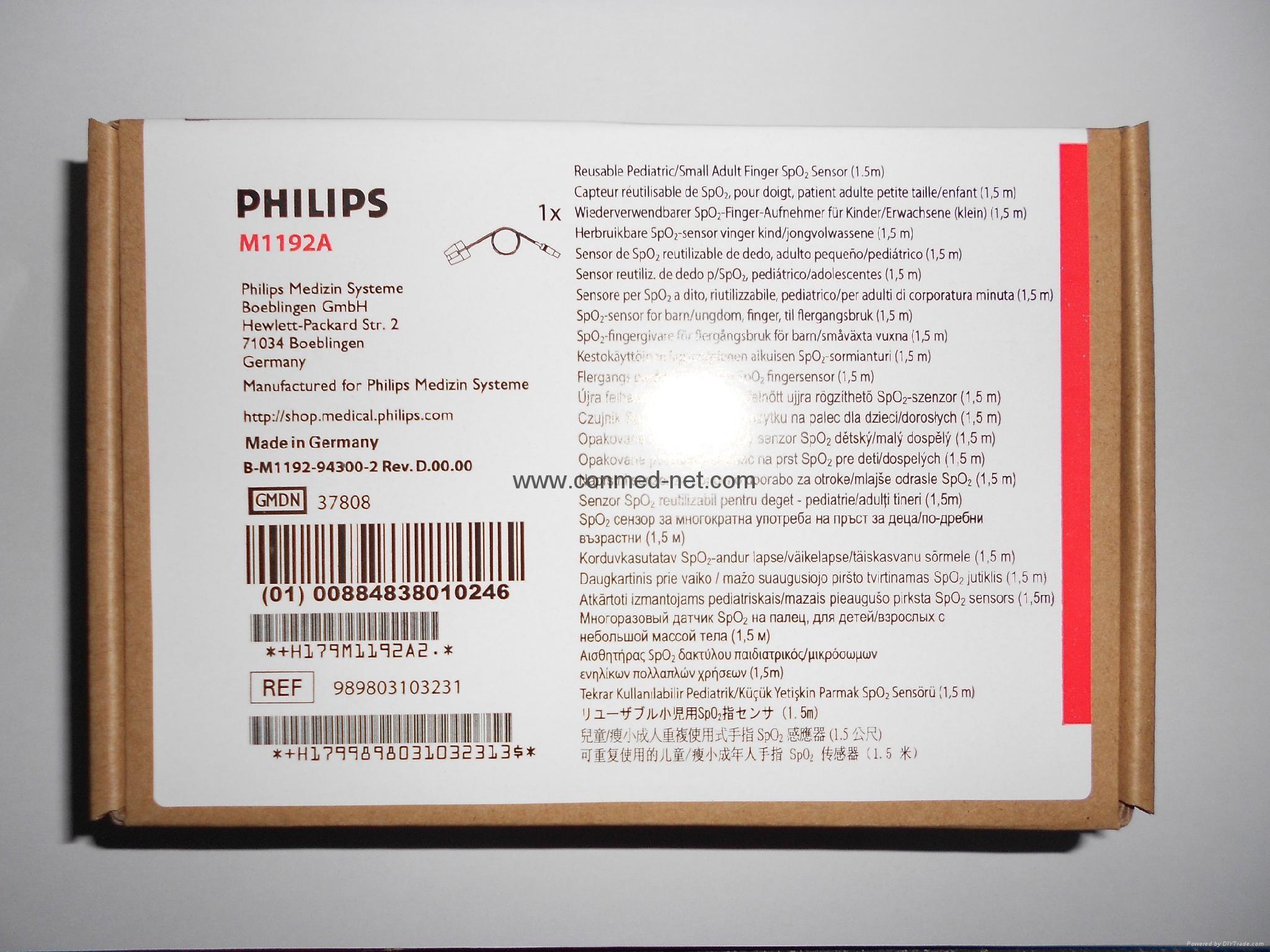 philips spo2 sensor 1