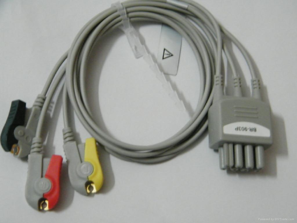 监护,心电导联,血氧饱和探头 1