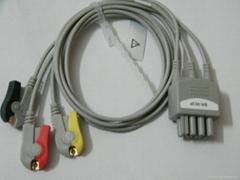監護,心電導聯,血氧飽和探頭