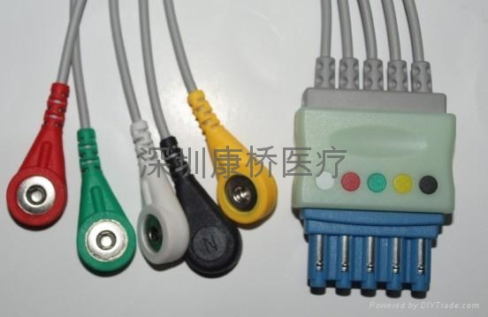 ZOLL ECG CABLE 4