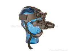 Pulsar普爾薩爾1x21超二代紅外線單目頭盔微光夜視儀