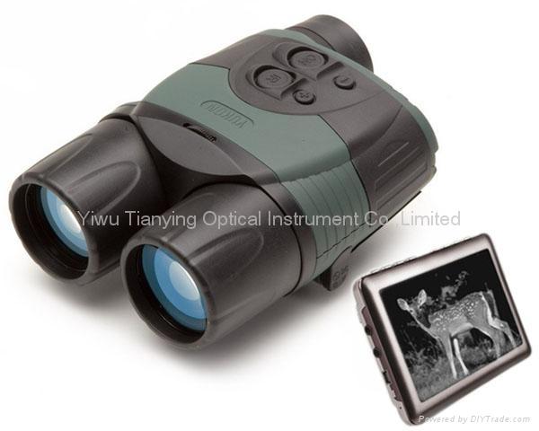 Yukon 玉昆 6.5×42带液晶屏红外线数码夜视仪 2