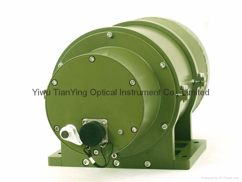 640x512 40mK 200mm镜头IP67防护监控红外热成像摄像机- 后面