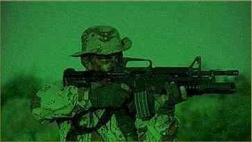 Night Vision Basis - The Generation Game -night vision image