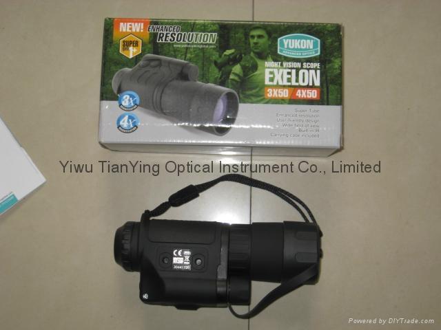 Yukon Exelon 4x50 Gen 1+ Night Vision Monocular -3