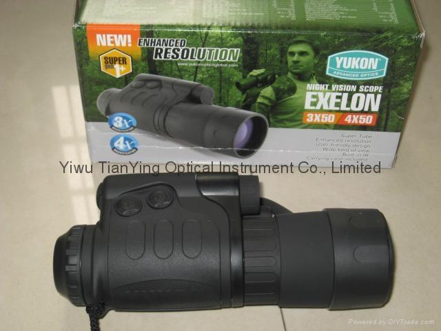 Yukon Exelon 4x50 Gen 1+ Night Vision Monocular -2