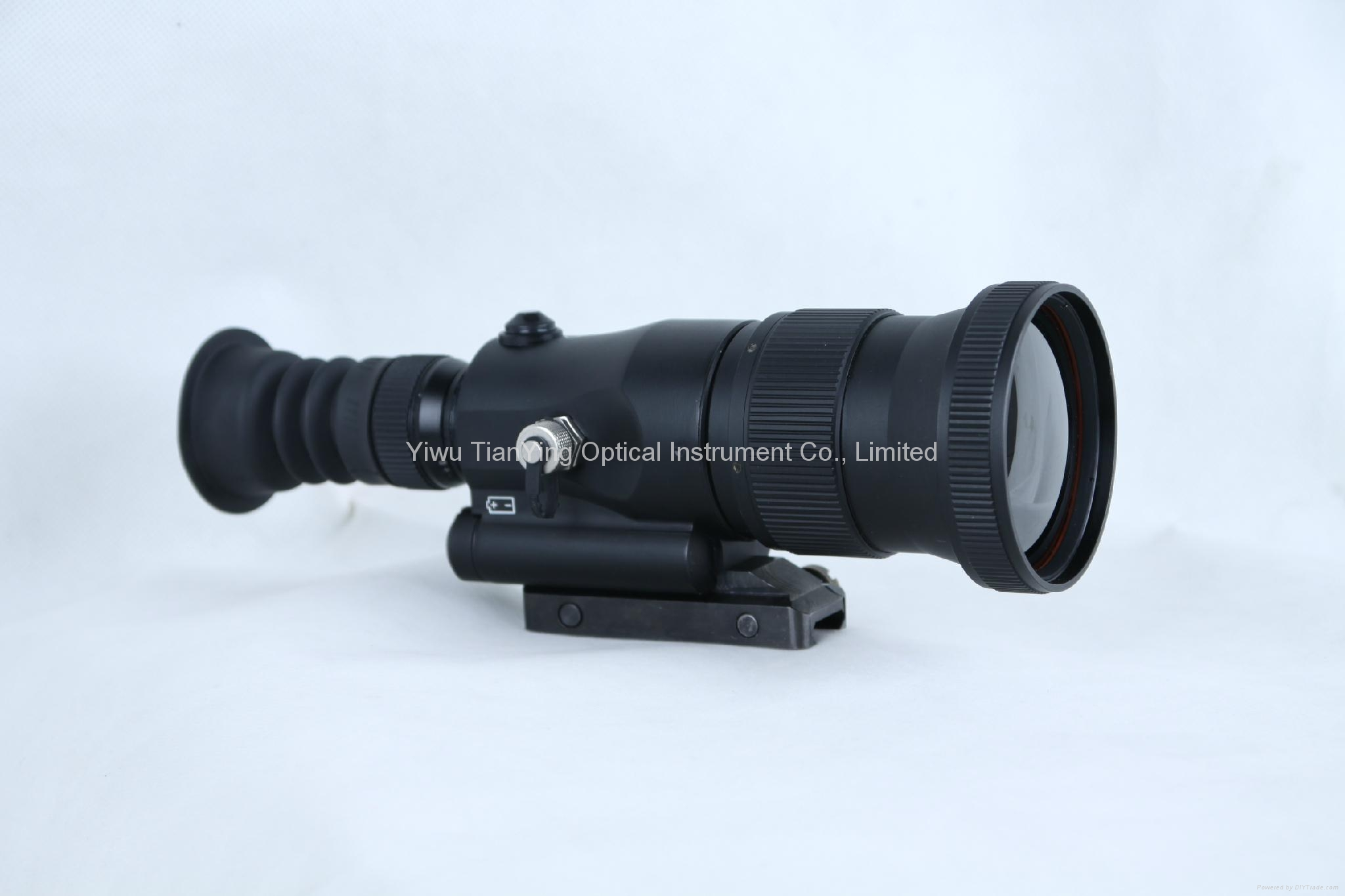 640x512 75mm lens 1000m Sniper Thermal Weapon Sight -3