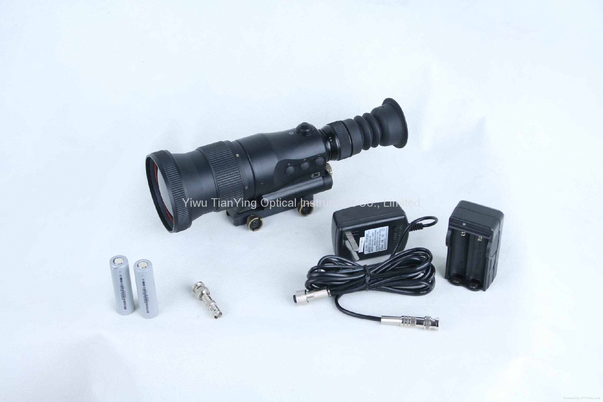 640x512 75mm lens 1000m Sniper Thermal Weapon Sight -5
