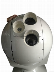 Viewing Tracking EO/IR Thermal Imaging Camera System 5km man Recognizing 640x512