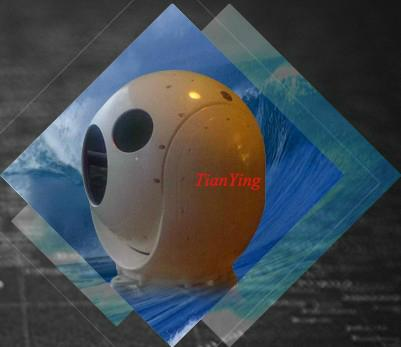 2 Axis 0.1mrad Gyro Stabilized Accuracy Turret 5km 640x512 Maritime Thermal Imaging Camera System