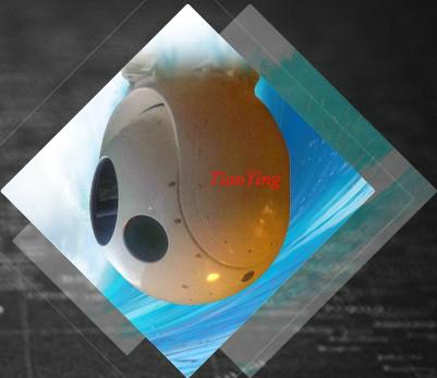 2 Axis Platform 640x480 F1 Lens 40mK UAV Thermal Imaging Camera