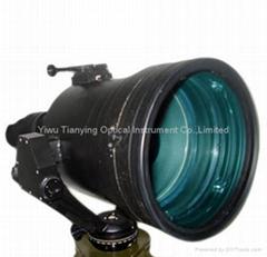 巨人5x200高性能超二代加管视频输出1000米微光夜视仪