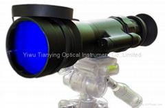 巨人5x75高性能2050型管700米型手持单目微光夜视仪