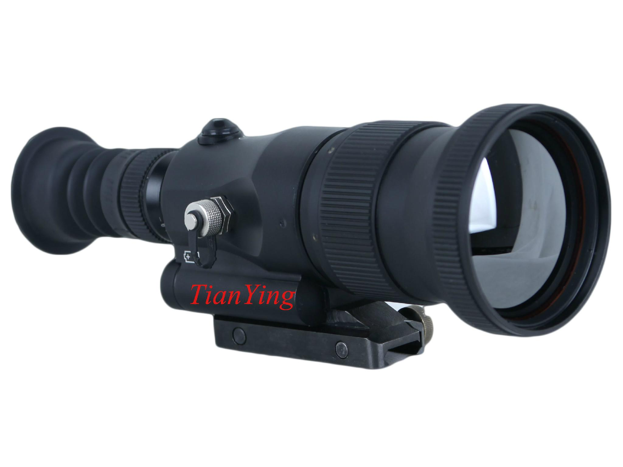 640x512 75mm Lens 1000m Sniper Thermal Weapon Sight monocular thermal telescope