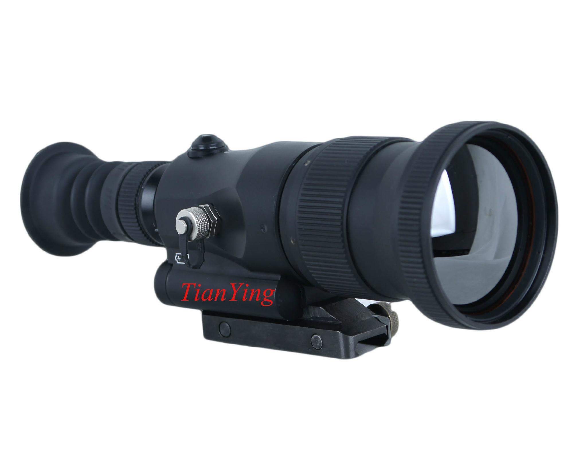 640x512 60mm Lens 800m Thermal Imaging Weapon Sights