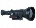 640x512 100mm Lens 1300m Sniper Thermal Weapon Sight Night Vision Rifle Scope