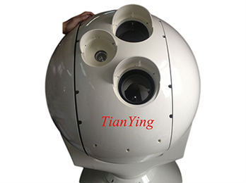 Tracking Viewing EO/IR Thermal Camera System fixed on ship, vehicle or tower