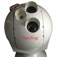 識別人員8km車輛14km光電搜索監視跟蹤紅外熱成像攝像機系統