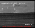 330mm focus thermal camera can clearly identify human