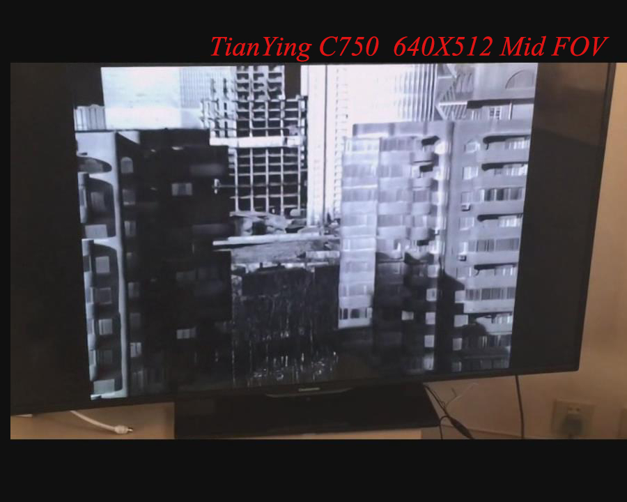 640x512 MWIR Cooled Thermal Imaging Core Camera Module with 750mm focus three FOV Lens - Mid FOV