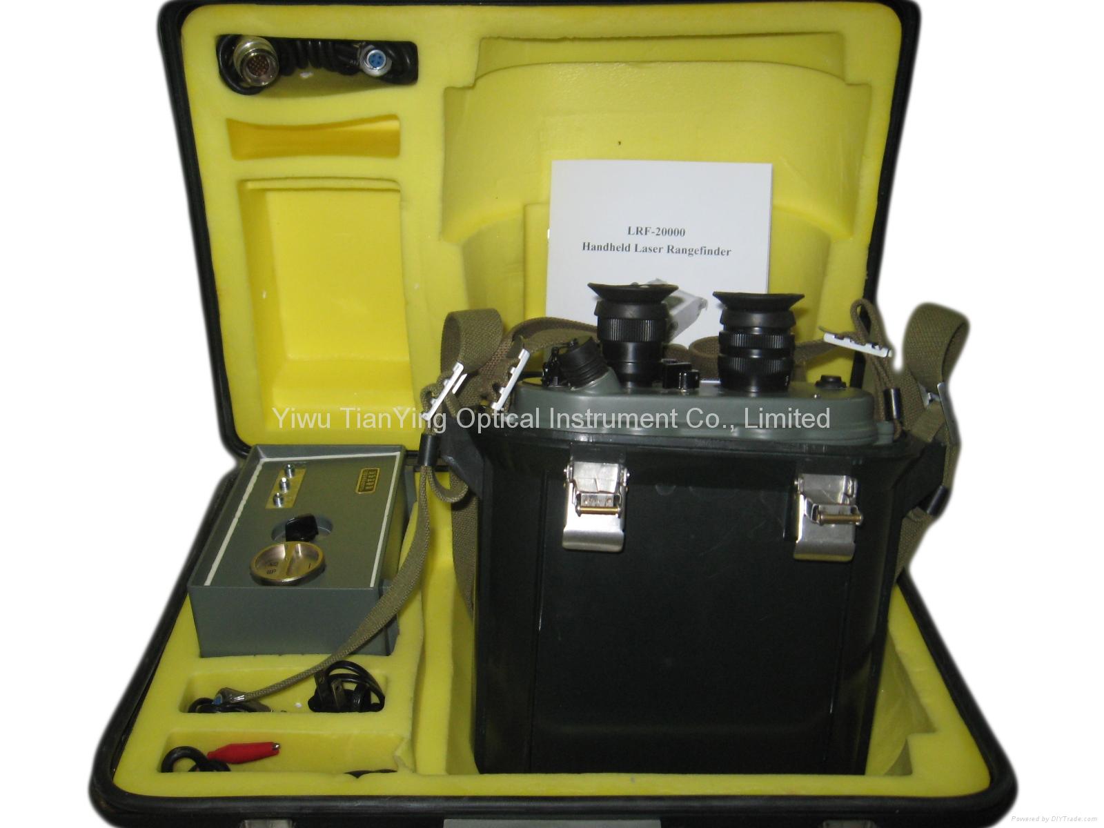 20km 0.2Hz Continuous Rate Eye Safe Laser Rangefinder Binoculars Packing-1