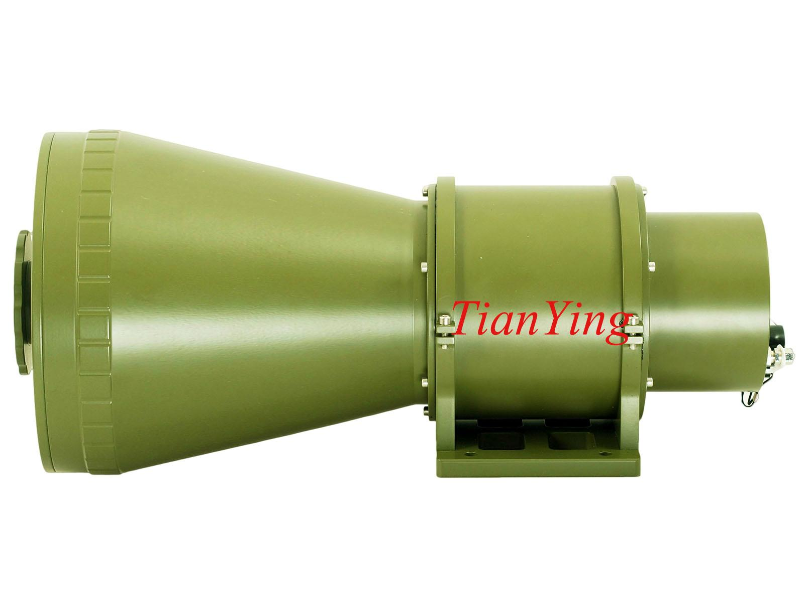 D200 640x512 50/200mm Focus 4.5km/7km Uncooled Thermal Imaging Camera