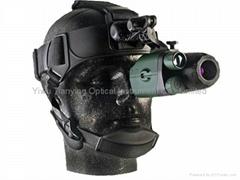 yukon白俄羅斯1x24第一代紅外線單目頭盔式微光夜視儀