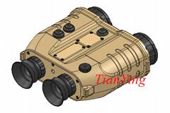 融合微光夜視儀與紅外熱成像望遠鏡、夜視望遠鏡