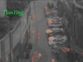 TL300 Fusion Night Vision Thermal Imaging Binoculars - black and white mode