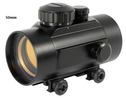 1x50 rifle scope