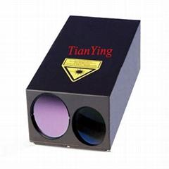 10km (10m² vehicle) 20ppm 1570nm Eye Safe Laser Rangefinder