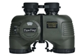 Stabilized Compass 7x50C Military Marine Binoculars of Range Finder - green