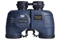 Stabilized Compass 7x50C Military Marine Binoculars of Range Finder - marine blue