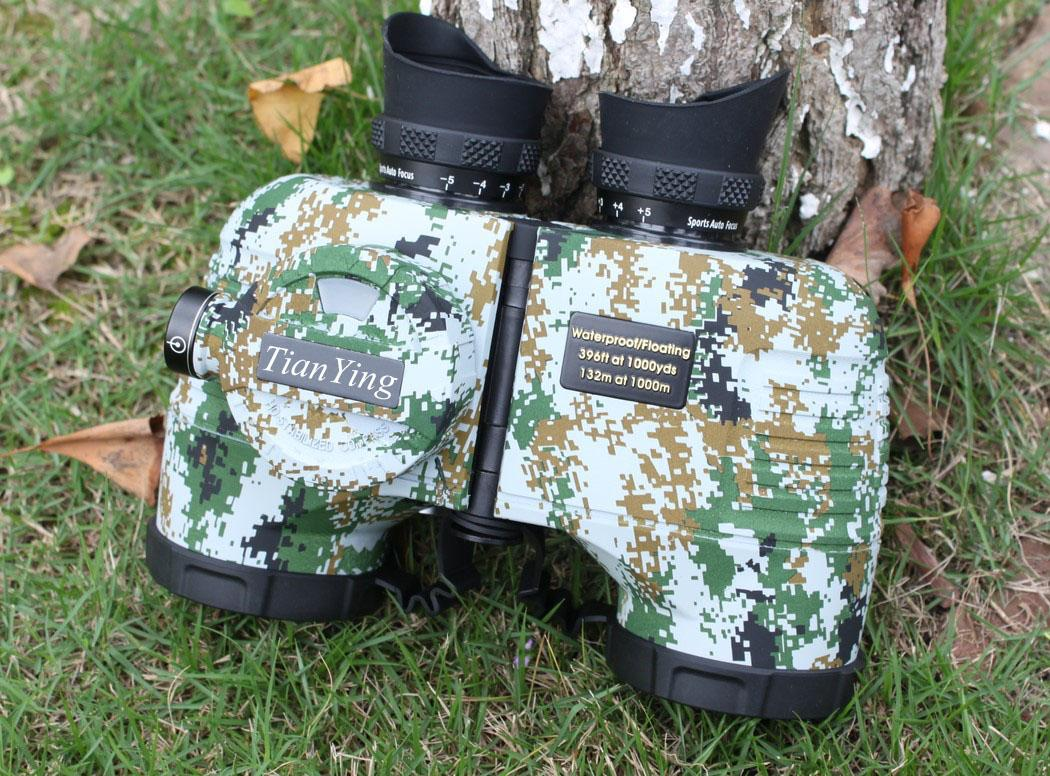 Stabilized Compass 7x50C Military Marine Binoculars of Range Finder