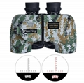 Stabilized Compass 7x50C Military Marine Binoculars of Range Finder -  simultaneously illuminate the reticle and the compass number