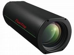 5MP 12.5~800mm Precision Zoom Achromatic 20km Tank Security Surveillance Camera
