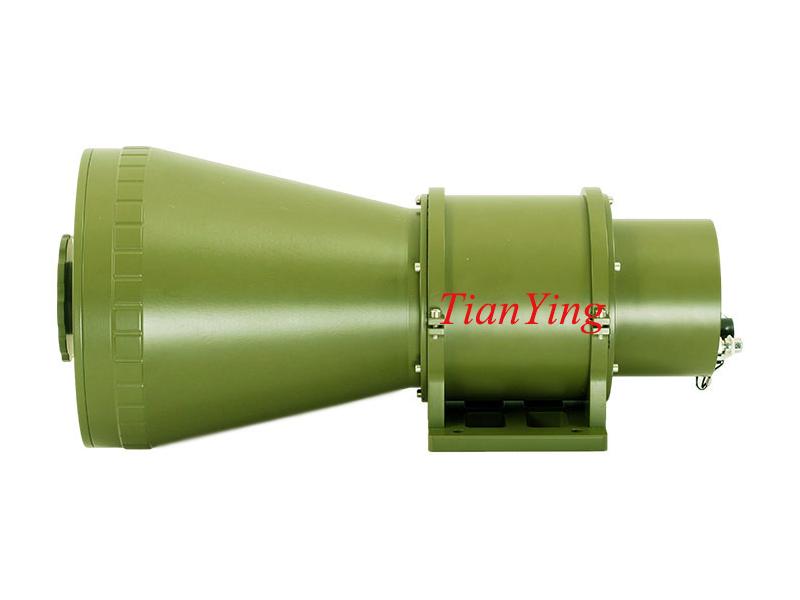 5km Human Security Surveillance Infrared Thermal Imaging Camera 100~330mm Focus