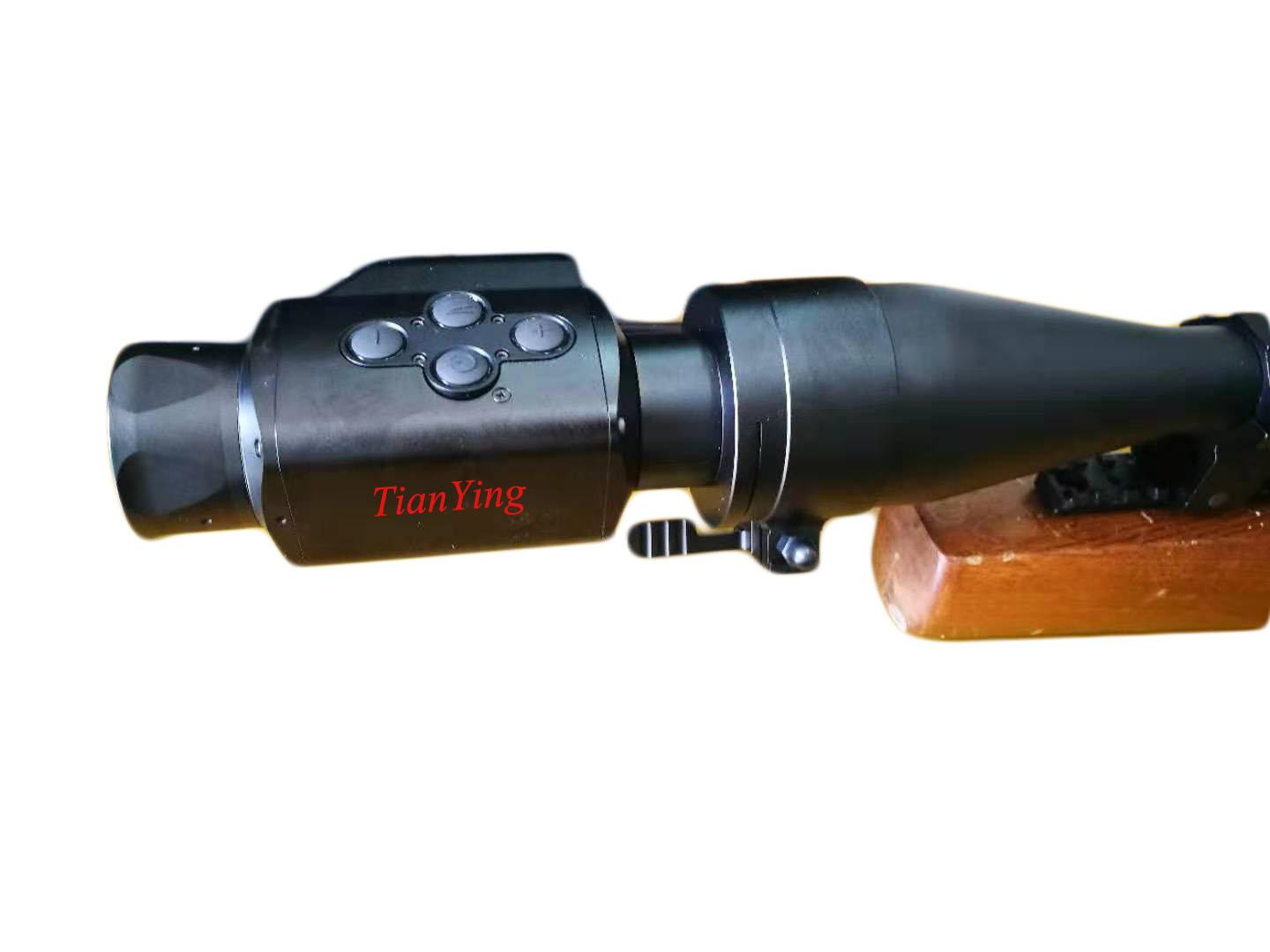 T22 384x288 300m Military Clip-On Thermal Weapon Sight Rifle Scope - 5
